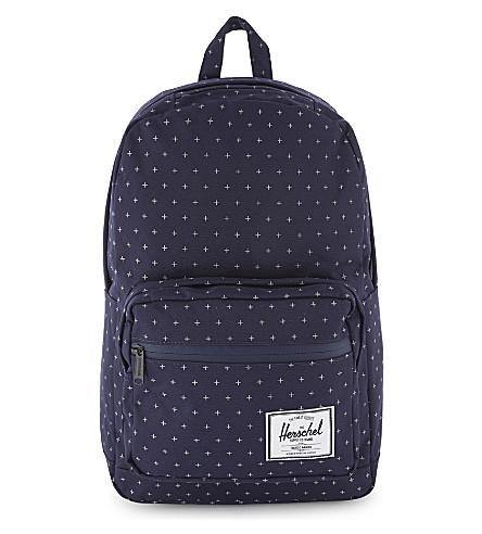 HERSCHEL SUPPLY CO Pop Quiz backpack (Peacoat+gridlock