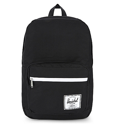 HERSCHEL SUPPLY CO Pop Quiz backpack (Black/black