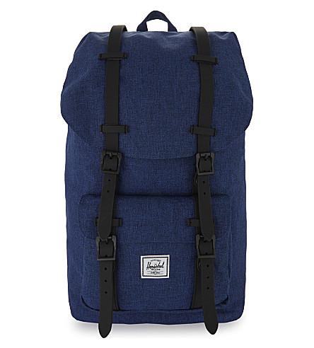 HERSCHEL SUPPLY CO Little America Aspect backpack (Eclipse+crsshtch/blk+rub