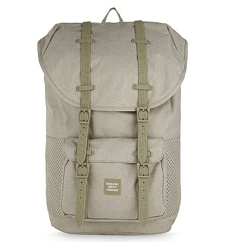 HERSCHEL SUPPLY CO Aspect Little America backpack (Dark+khaki/+crosshatch