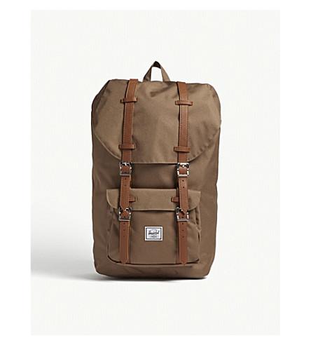 HERSCHEL SUPPLY CO - Little America canvas backpack   Selfridges.com 5fea6ec465