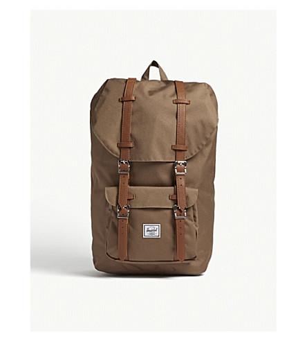 tan HERSCHEL Cub America SUPPLY de CO Little lona Mochila AUqw178rnU