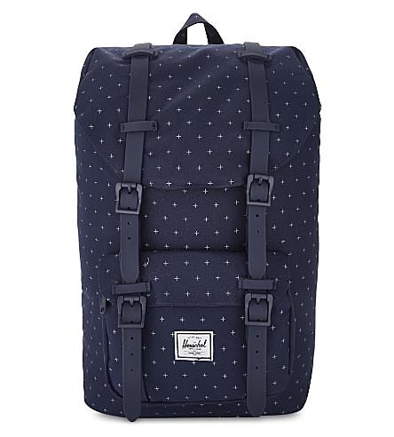 HERSCHEL SUPPLY CO Little America backpack (Peacoat+gridlock