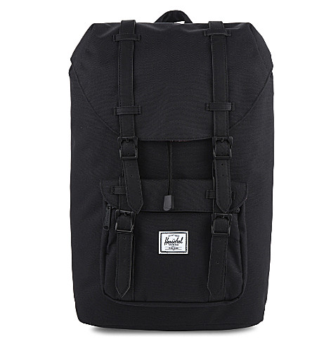 HERSCHEL SUPPLY CO Little America mid backpack (Black/black