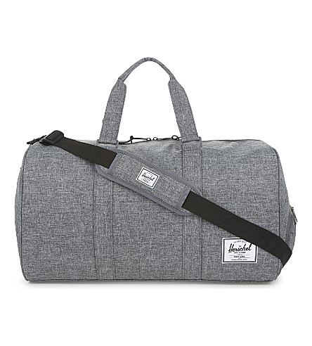 HERSCHEL SUPPLY CO Novel holdall (Raven+crosshatch