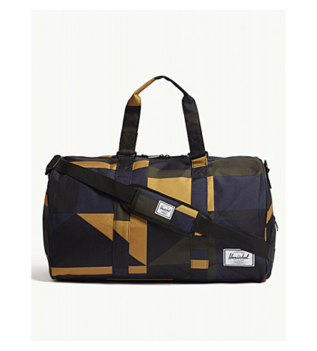 HERSCHEL SUPPLY CO Novel geometric-print duffle bag
