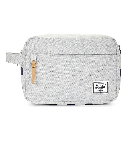 HERSCHEL SUPPLY CO Chapter canvas travel bag (Light+grey+crossstripe