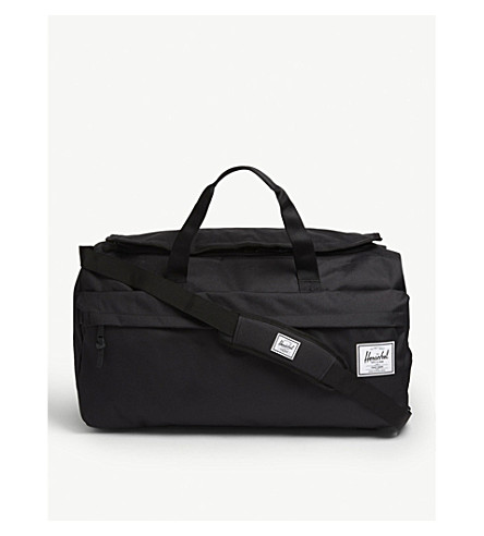 HERSCHEL SUPPLY CO Outfitter duffle bag (Black