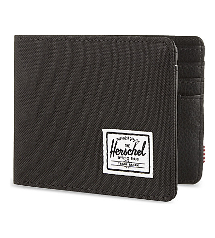 HERSCHEL SUPPLY CO Hank canvas wallet (Black