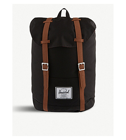 HERSCHEL SUPPLY CO Retreat backpack (Black/tan+pu