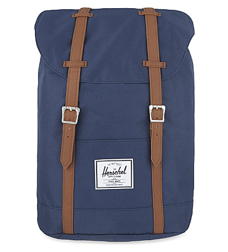HERSCHEL SUPPLY CO Retreat backpack (Navy/tan+pu