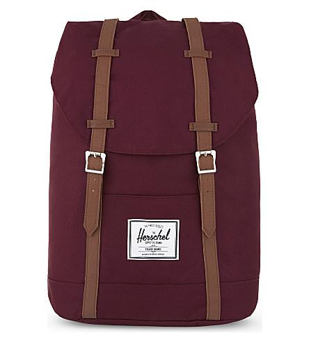 HERSCHEL SUPPLY CO Retreat backpack (Windsor+wine