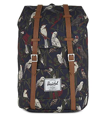 HERSCHEL SUPPLY CO Retreat backpack (Peacoat+parlour/tan