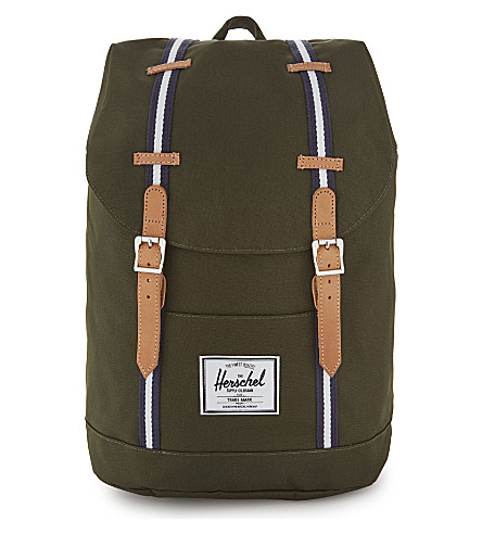 HERSCHEL SUPPLY CO Retreat backpack (Frst+green/veggie+tan