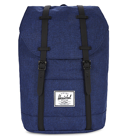 HERSCHEL SUPPLY CO Retreat backpack (Eclipse+crss+blk+rubber