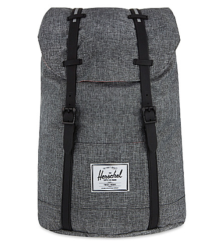 HERSCHEL SUPPLY CO Retreat backpack (Raven+crosshatch/black