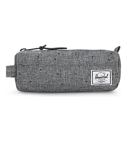HERSCHEL SUPPLY CO Settlement zipped pencil case (Scattered+raven+xhtch
