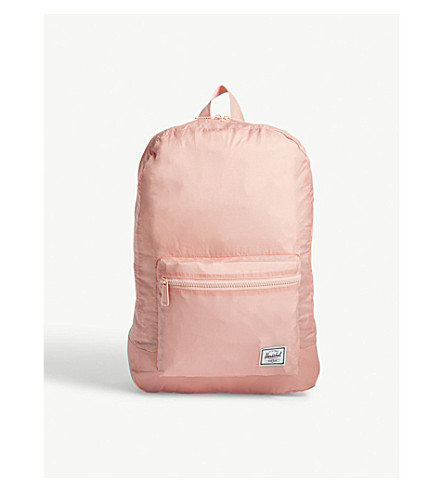 HERSCHEL SUPPLY CO Packable backpack (Peach