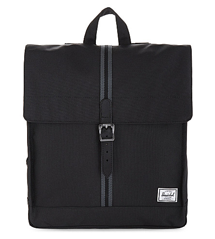 HERSCHEL SUPPLY CO City backpack (Blk/dark+shadow/blk+tan