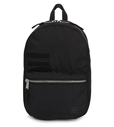 HERSCHEL SUPPLY CO Surplus Lawson flight satin backpack (Black