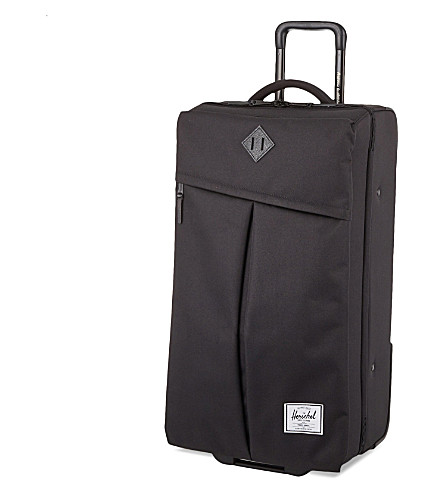HERSCHEL SUPPLY CO Parcel extra-large two-wheel suitcase 81cm (Black