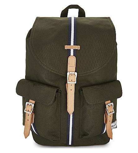 HERSCHEL SUPPLY CO Dawson backpack (Frst+green/veggie+tan