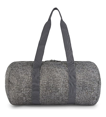 HERSCHEL SUPPLY CO Packable duffle (Raven+crosshatch