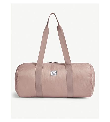 1eb9f875a88c ... HERSCHEL SUPPLY CO Foldable nylon duffle bag (Ash+rose. PreviousNext