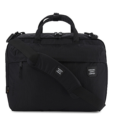 HERSCHEL SUPPLY CO Britannia backpack messenger bag (Black