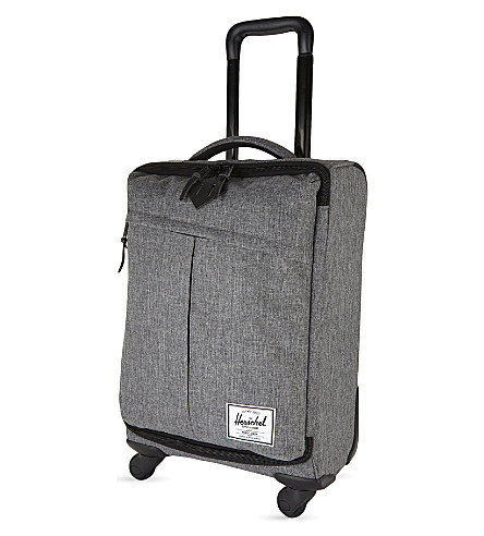 HERSCHEL SUPPLY CO Highland small four-wheel suitcase 54cm (Raven+crosshatch