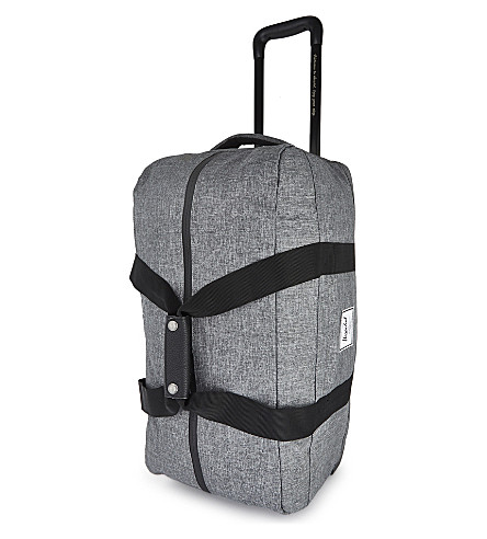 HERSCHEL SUPPLY CO Wheelie Outfitter travel bag (Raven+crosshatch