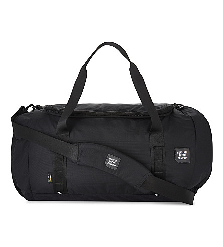 HERSCHEL SUPPLY CO Gorge large nylon holdall (Black