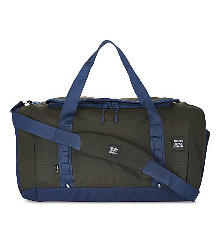 HERSCHEL SUPPLY CO Gorge duffle bag (Peacoat/forest+night