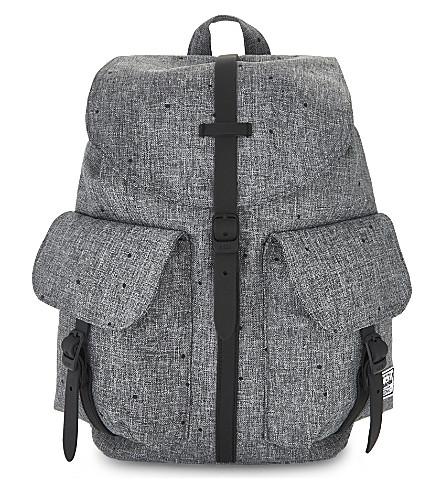 HERSCHEL SUPPLY CO Dawson crosshatch mini backpack (Scttrd+rav+crsshtch/blk