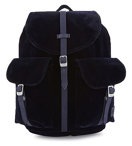 HERSCHEL SUPPLY CO Dawson velvet mini backpack (Peacoat