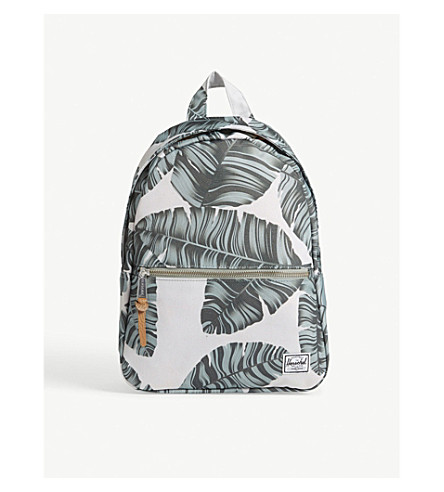 HERSCHEL SUPPLY CO Town XS backpack (Silver+birch+palm