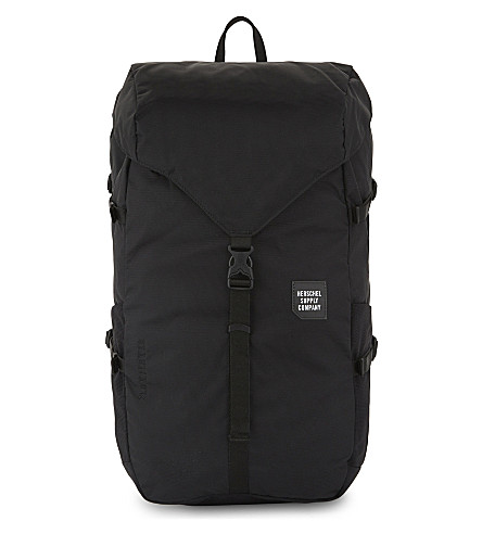 HERSCHEL SUPPLY CO Trail Barlow large Cordura® backpack (Black