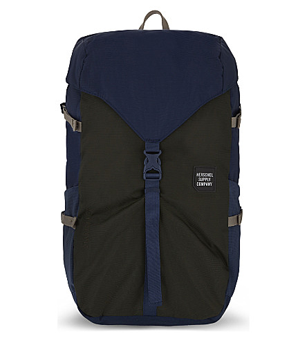 HERSCHEL SUPPLY CO Barlow backpack (Peacoat/forest+night