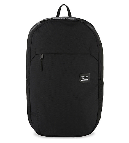 HERSCHEL SUPPLY CO Mammoth large nylon backpack (Black