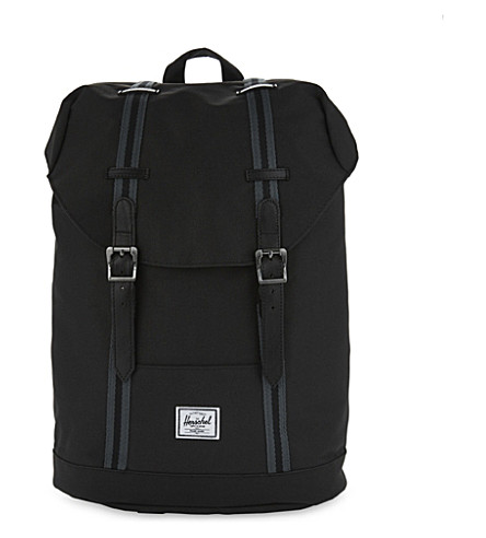HERSCHEL SUPPLY CO Retreat backpack (Blk/dark+shadow/blk+tan