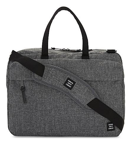 HERSCHEL SUPPLY CO Sandford messenger bag (Raven+crosshatch