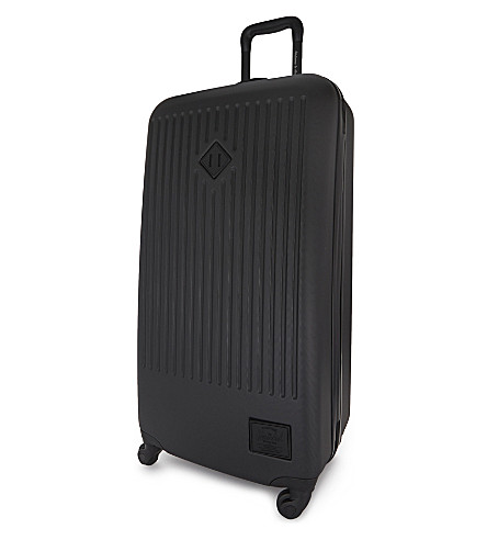 HERSCHEL SUPPLY CO Trade four-wheel large suitcase 86cm (Black