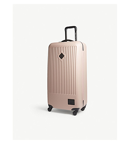 HERSCHEL SUPPLY CO Trade large hardshell suitcase 86cm (Ash+rose
