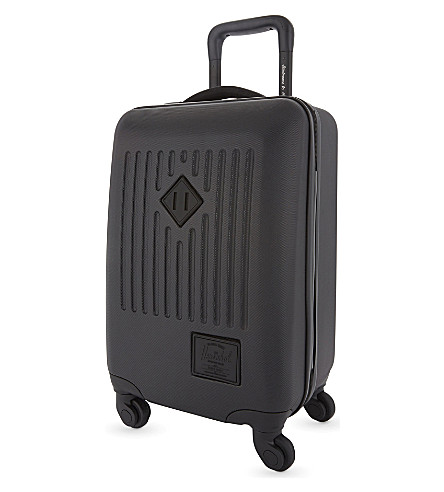HERSCHEL SUPPLY CO Trade carry on four wheel suitcase 55cm (Black