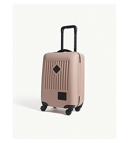HERSCHEL SUPPLY CO Trade carry on four wheel hard case suitcase 55cm (Ash+rose