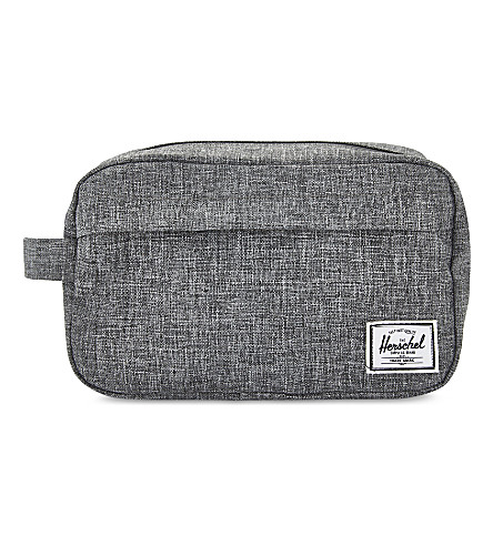 HERSCHEL SUPPLY CO Chapter carry-on travel kit (Raven+crosshatch