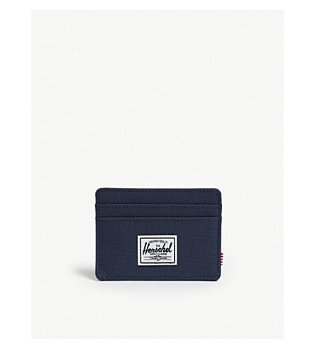 HERSCHEL SUPPLY CO Charlie woven card holder (Navy