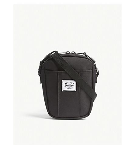 HERSCHEL SUPPLY CO Cruz canvas cross-body bag (Black
