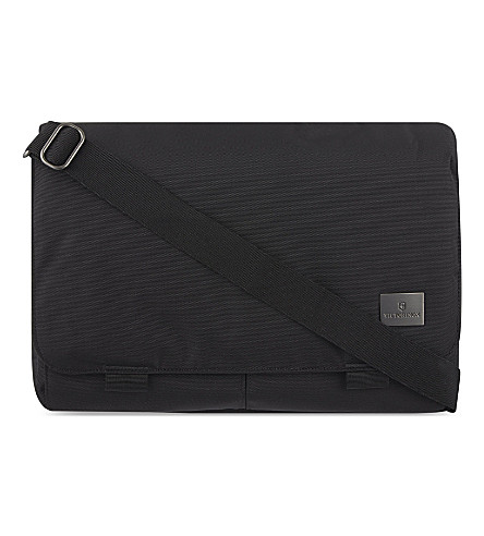 VICTORINOX Werks Professional Consultant laptop messenger bag (Black