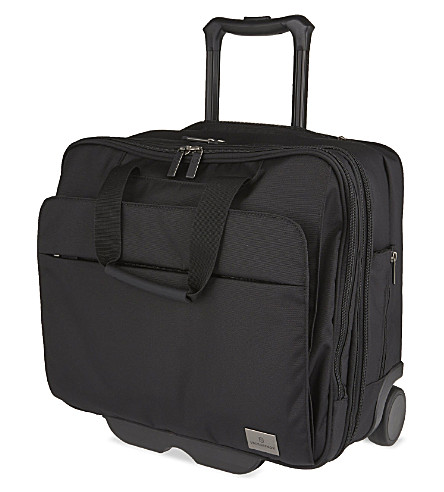 VICTORINOX Officer two-wheel briefcase (Black